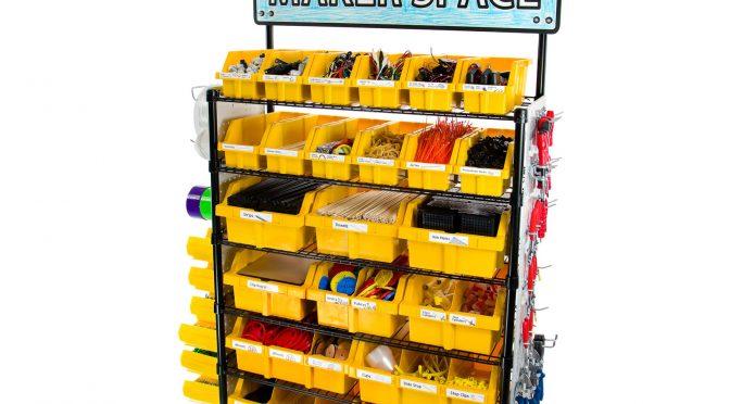 Maker Cart from Teacher Geek